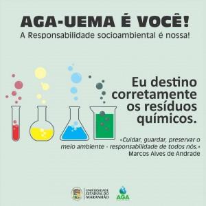Campanha do descarte correto de Resíduos Químicos