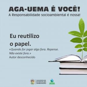 Campanha de reutilização do papel