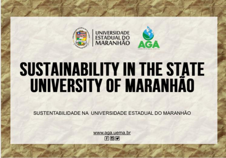 CARTILHA-BILÍNGUE: SUSTAINABILITY IN THE STATE UNIVERSITY OF MARANHÃO