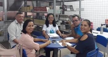 Equipe da AGA reuniu -se com o diretor e professores do CEM Paulo VI (escola de aplicação da UEMA).