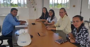 Equipe da AGA nas instalações da BITAL - Soluções Ambientais