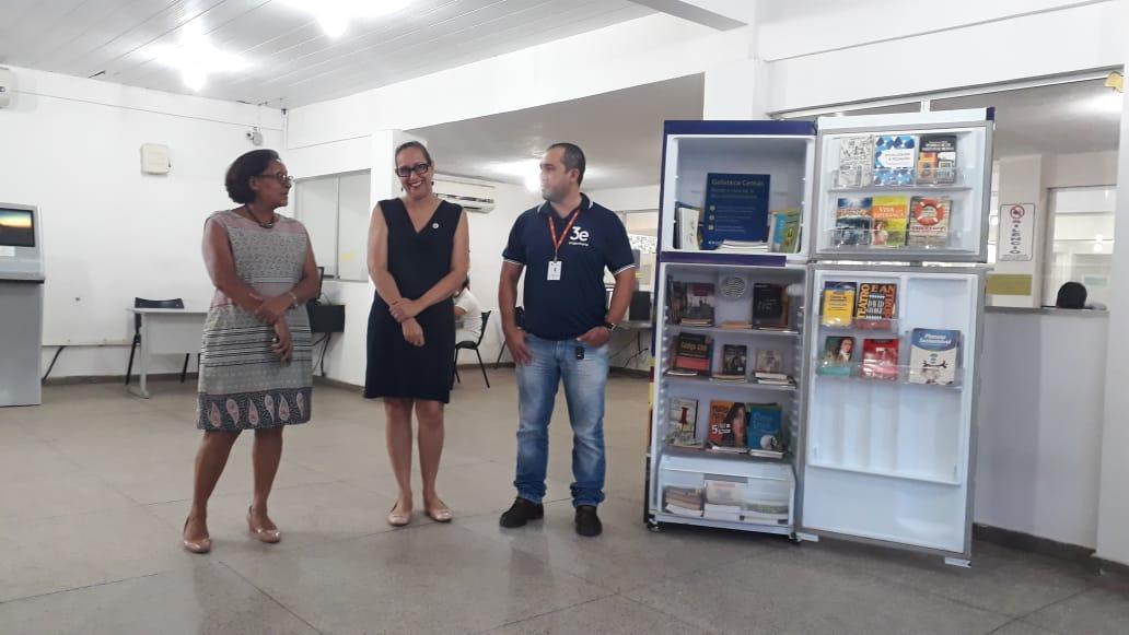 Equipe da AGA, Biblioteca Central e Ecocemr.