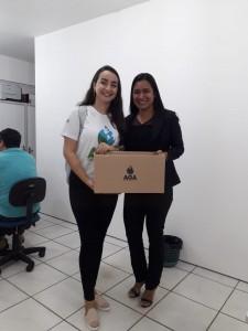 Setores Administrativos recebem caixas da AGA